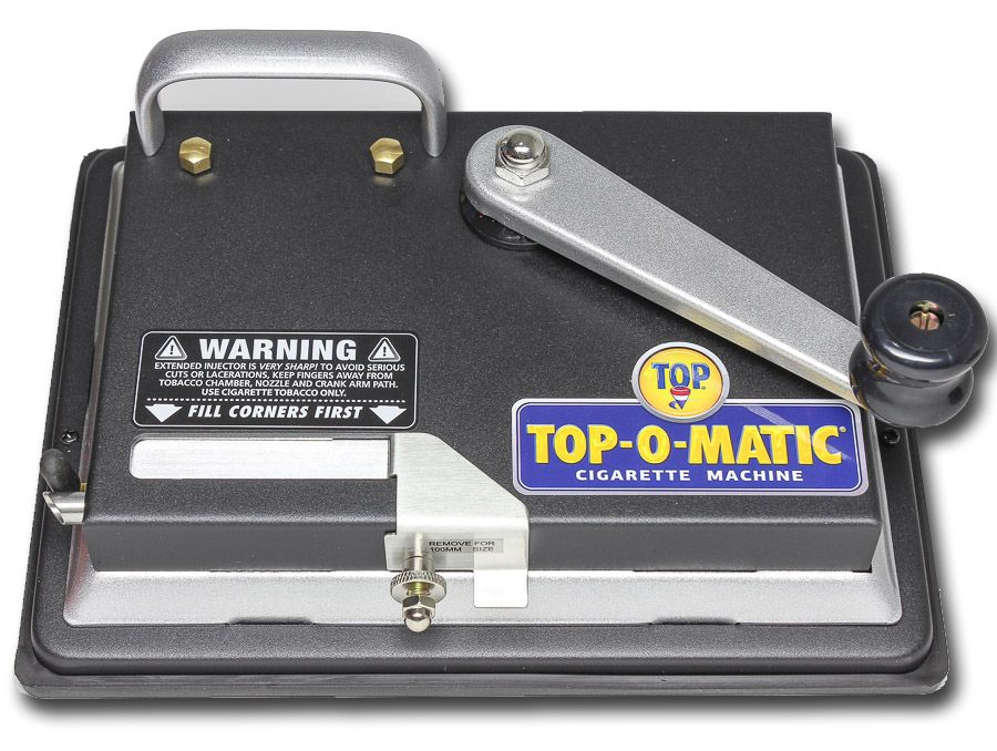 top-o-matic cigarette rolling machine